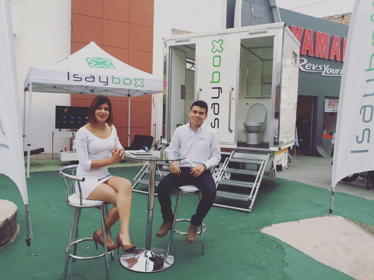 Expo en Paraguay, exhibición baños de lujo